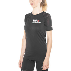 Compressport SwimBikeRun Training Koszulka Kobiety, black